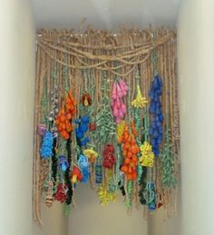 Nature-Based Plarn #Crochet #Artist Barbara De Pirro