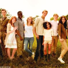 Hunger Games tributes.