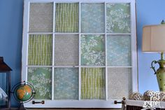 """Old window Ballard inspired craft from """"A Step in the Journey"""""""