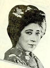Tsuru Aoki  (September 9, 1892 – October 18, 1961) was a popular Japanese stage and screen actress whose career was most prolific during the silent film era of the 1910s through the 1920s. Aoki may have been the first Asian actress to garner top-billing in American motion pictures. Married to Sessue Hayakawa
