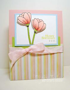 Created with Our Craft Lounge Pretty Petals and Say it with Flowers stamp sets.