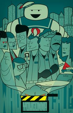 Ghostbusters by Ale Giorgini