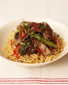 Jamie Oliver's beef and broccoli stir-fry