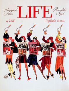 vintage Life Magazine cover