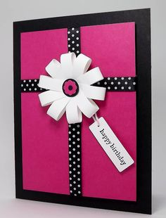birthday presents, happy birthdays, color combos, paper bows, birthday greetings, black white, paper flowers, happy birthday cards, wrapped gifts