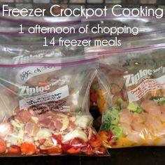 freezer crockpot cooking