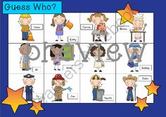 WHO AM I? bundled pack  16 DIFFERENT variations included! from Miss Simplicity's Store on TeachersNotebook.com -  (40 pages)  - aka Guess Who? This is a simple oral language game you can play in your Jr primary or elementary class.