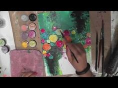 ▶ Mixed Media Canvas Tutorial - YouTube