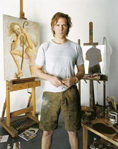 artist John Currin, NY