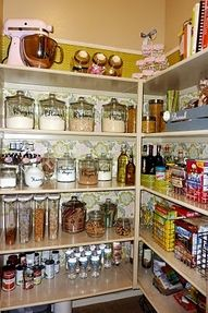 I want my pantry like this