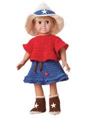 Cowgirl Outfit for 18-inch Doll