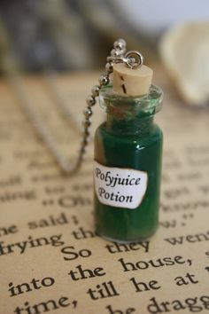 Polyjuice Potion Vial Necklace