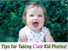24 Tips for Taking Adorable Photos of Kids! ~ from TheFrugalGirls.com #photography #tips