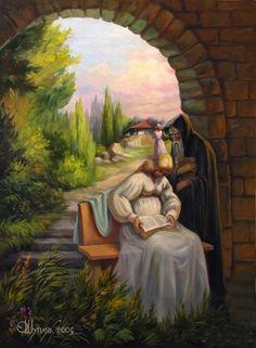 Love Oleg Shuplyak's optical illusion painting