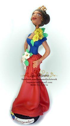 Miss Venezuela en Flor by luzyamelin, via Flickr