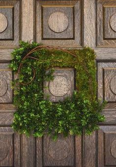 Moss Covered Square Frame
