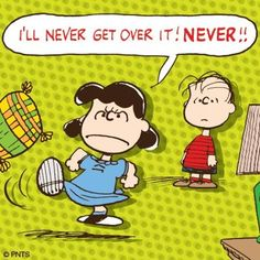 Is it Monday again??! #Lucy #Peanuts #Monday
