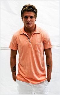 Sol Angeles Orange Waves Slub Polo #menswear #style