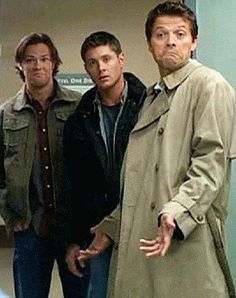 The cast of CW's Supernatural