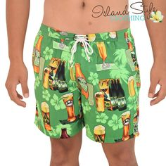 Mens Shorts GREEN BE