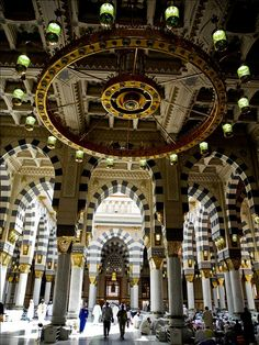 Mosque of the Prophet (Masjid-e-Nabvi) Madina (5 of 30) by ShaukatNiazi, via Flickr