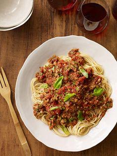 Hearty Meatless Sauce #myplate #slowcooker #vegetarian #veggies
