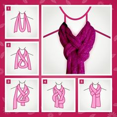How to wear your scarf :)