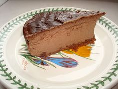 Primal Chocolate Cheesecake