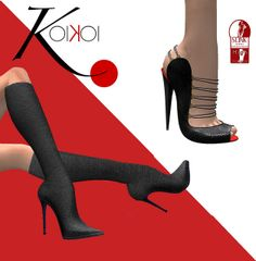 KoiKoi http://maps.secondlife.com/secondlife/KoiKoi%20Shoes/209/122/23