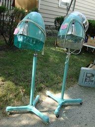 So Retro!! Love these salon dryers