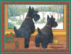 Scottie Christmas Cards Scottish Terrier Christmas Cards Scottie Christmas Cards Scotty Christmas Cards Scottie Cards Scotty Cards Scottish Terrier Cards