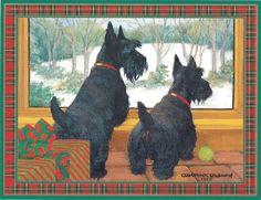 Scottie Christmas Cards Scottish Terrier Christmas Cards Scottie Christmas Cards Scotty Christmas Cards Scottie Cards Scotty Cards Scottish Terrier Cards