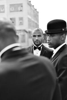 men styles, bow ties, dapper men, men fashion, men photography, groom, black, style blog, male models