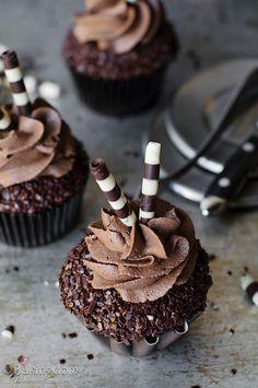 Chocolate Chai Cupcakes | ©Bakingdom