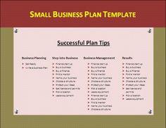 business plan template .