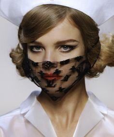 lace, seasons, natalia vodianova, vanities, masks