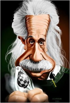 Albert Einstein Caricatures