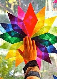 This would be a beautiful craft to do