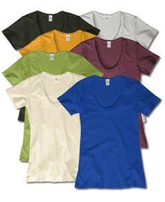 Women's Scoop Organic Cotton T-Shirt