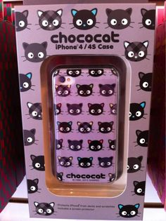 JapanLA: We got a Chococat case too! iphone cases, iphone 4s, chococat case, iphone 4 cases, droid phone