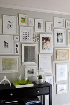 Gallery wall.