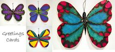 Handmade Butterfly Greetings Cards