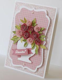 My creative corner: How to make paper roses...