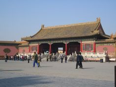 Into the Forbidden City, Beijing, China.