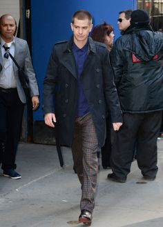 Steal His Style: Andrew Garfield's Burberry Trench Coat