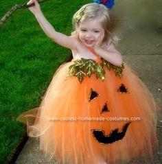 pumpkin costume for little girls