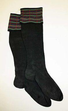 Late 19th Century Stockings   Culture: Scottish