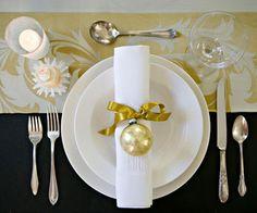 Christmas ornament napkin ring