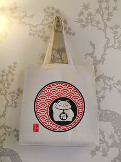 Maneki Neko marketing bag