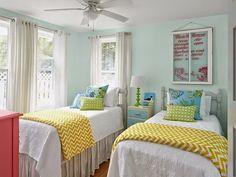 cottage guest bedroom | Jane Coslick